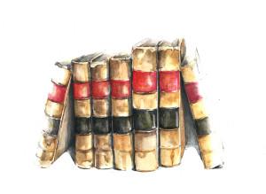 24Apr15  Library books